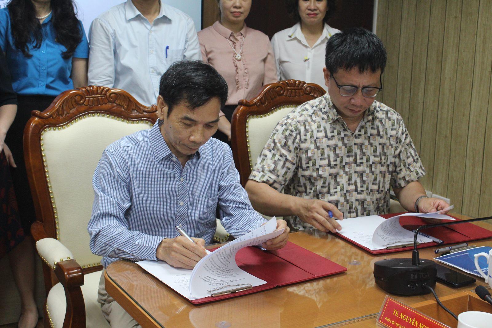 Thỏa thuận hợp tác với công đoàn ngành Giáo dục Việt Nam