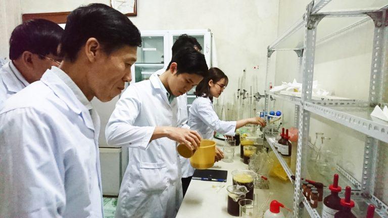 Viện IRDOP tiếp tục mở lớp đào tạo làm dầu gội đầu – khoá 3